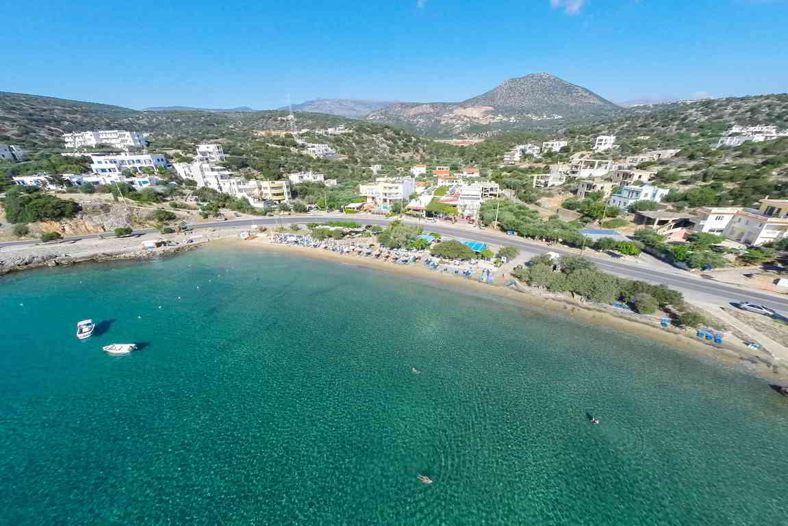 Ammoudara beach, Agios Nikolaos, Crete