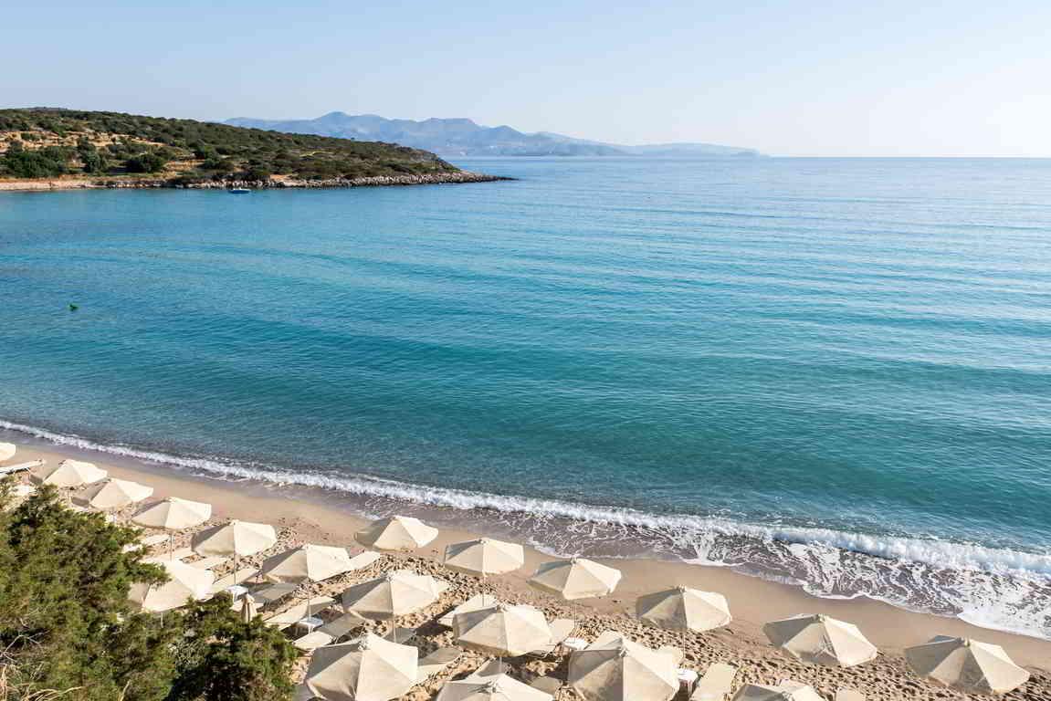 Voulisma beach, Agios Nikolaos, Crete