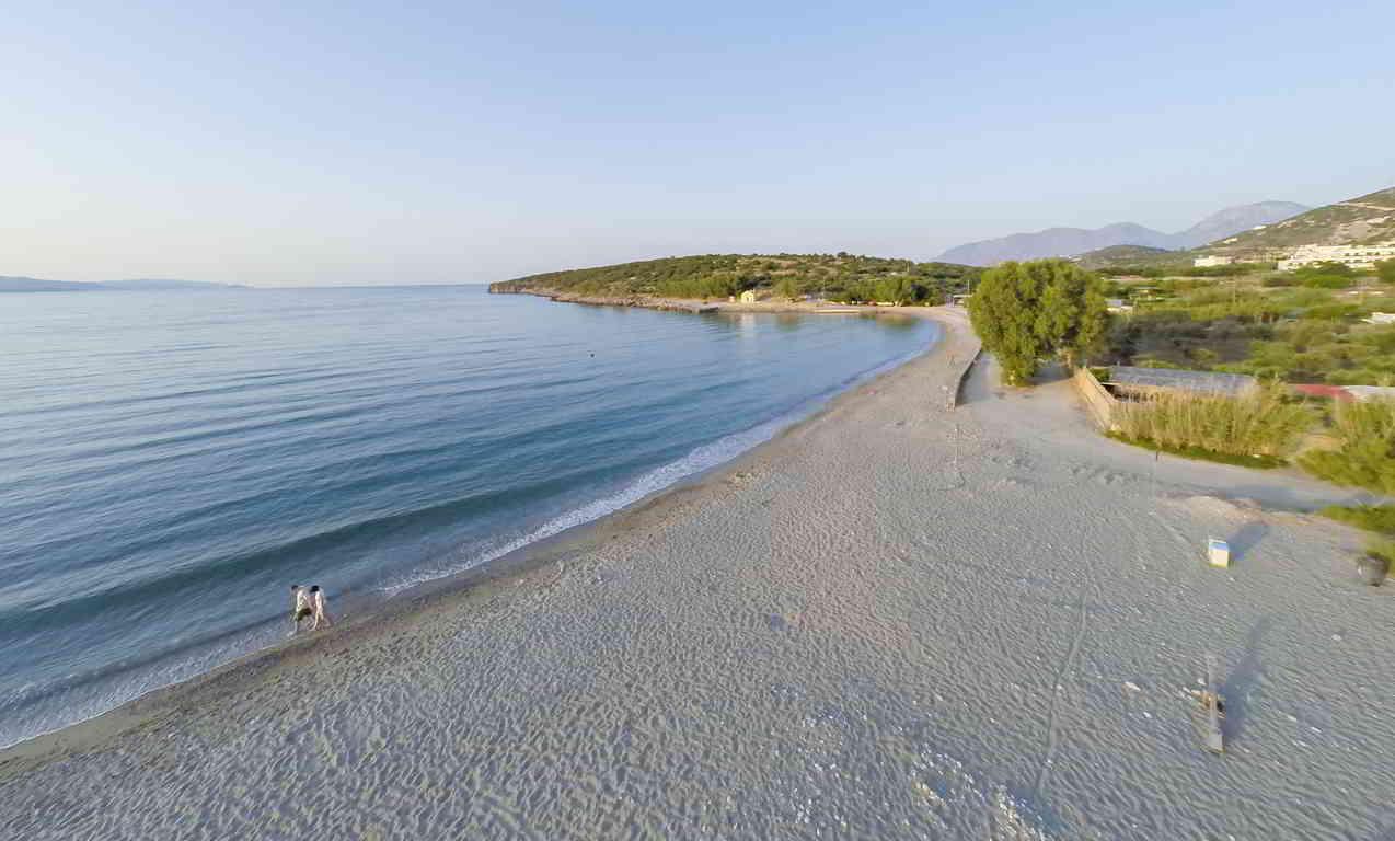 Agios Panteleimonas beach, Agios Nikolaos, Crete