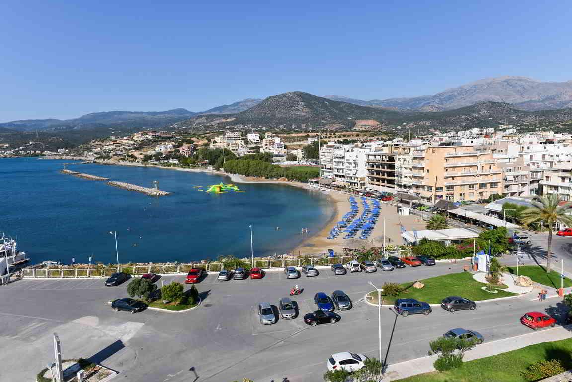 Ammos beach, Agios Nikolaos, Crete