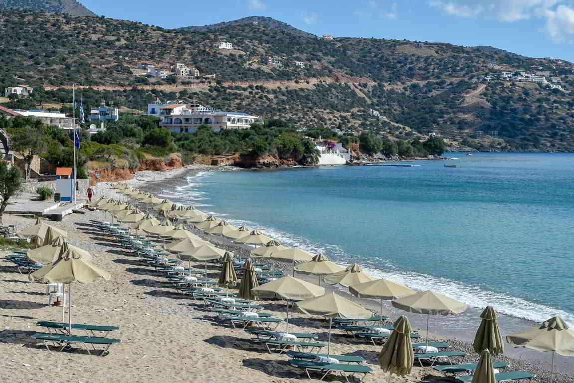Havania beach, Agios Nikolaos, Crete