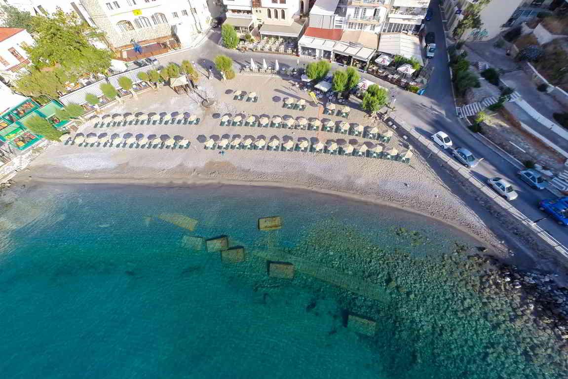 Kitroplateia beach, Agios Nikolaos, Crete