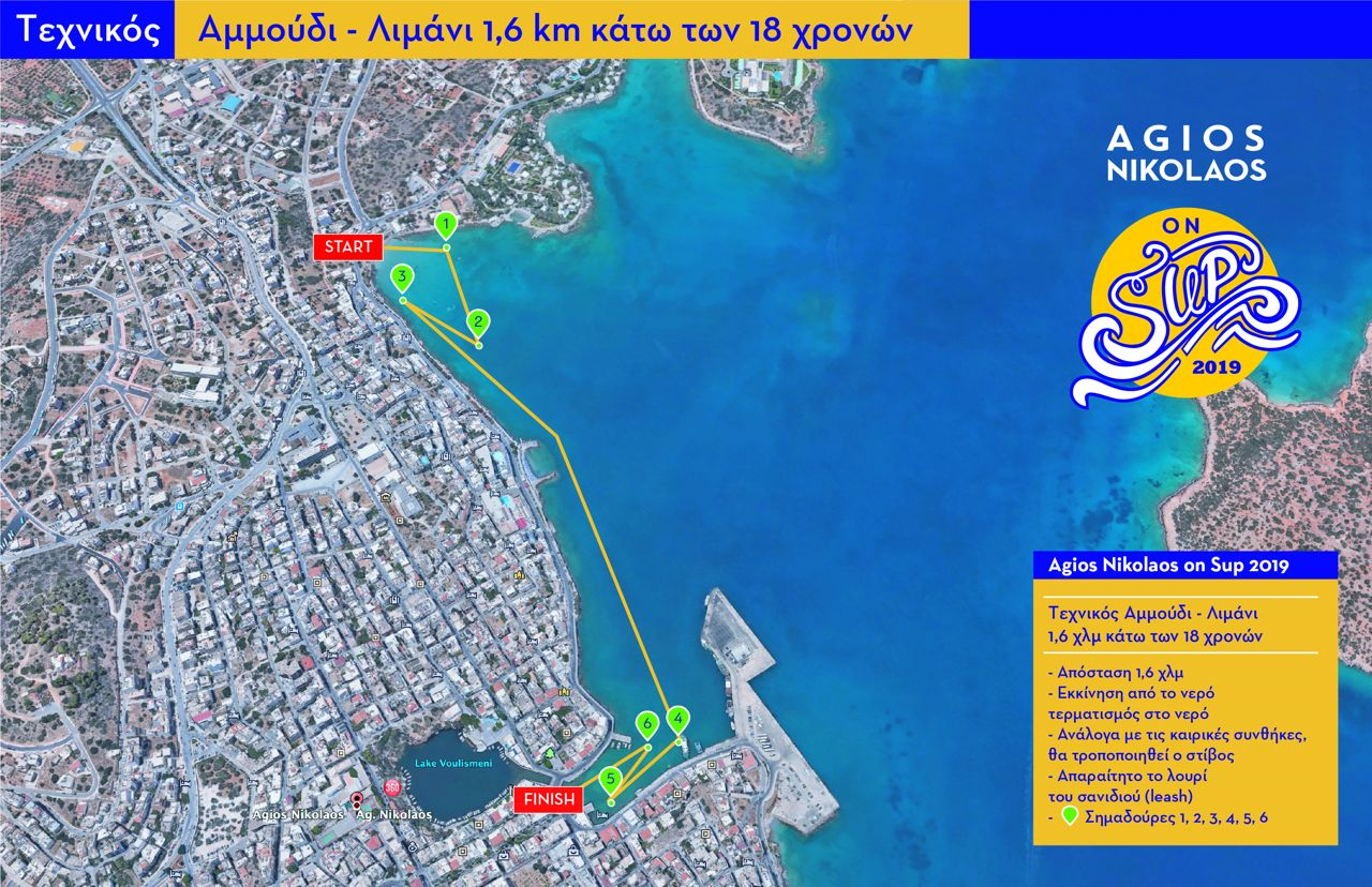 Technical Port -Ammoudi 1,6km 2019